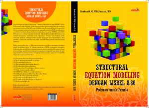 COVER BUKU STRUCTURAL EQUATION MODELING HENDRYADI DAN SURYANI