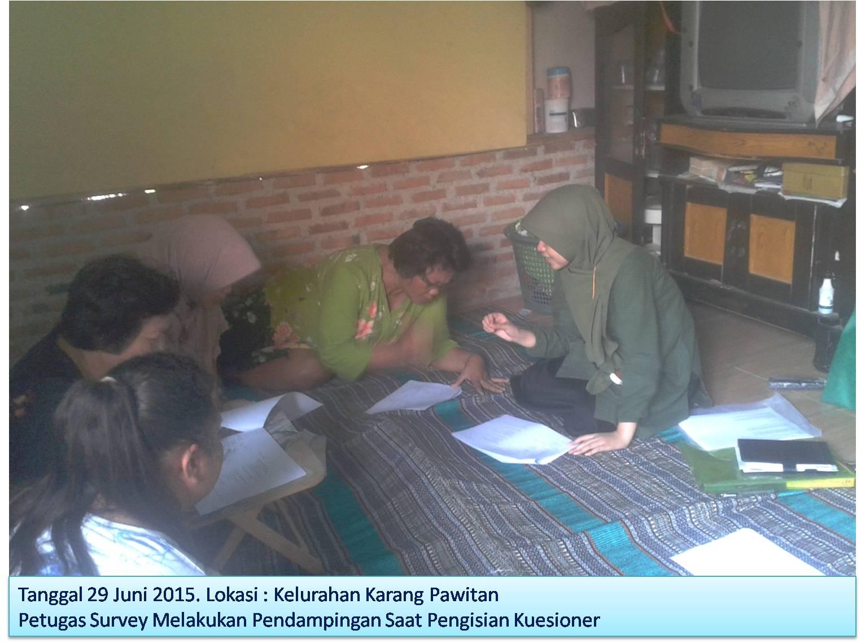 Survey Sosial Ekonomi di Kabupaten Karawang