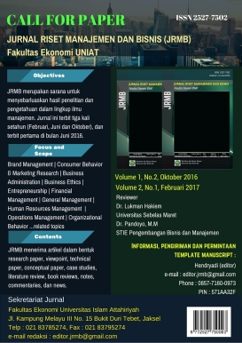call for paper JRMB FE-UNIAT
